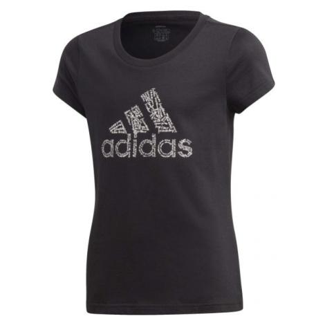 adidas YG BADGE OF SPORT TEE - Mädchen Shirt