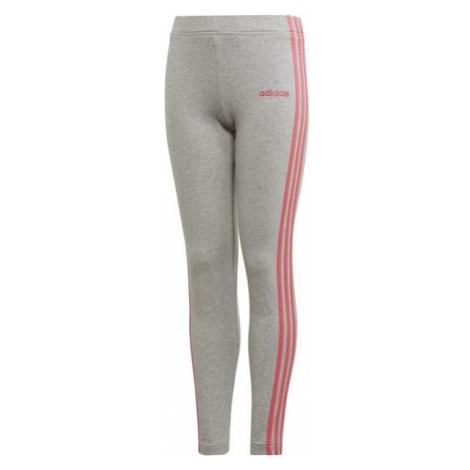 adidas YG E 3S TIGHT grau - Mädchen Leggings