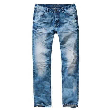 Brandit Jeans WILL WASHED DENIM BD1015 Blue Washed