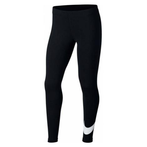 Nike NSW FAVORITES SWSH schwarz - Mädchen Leggings