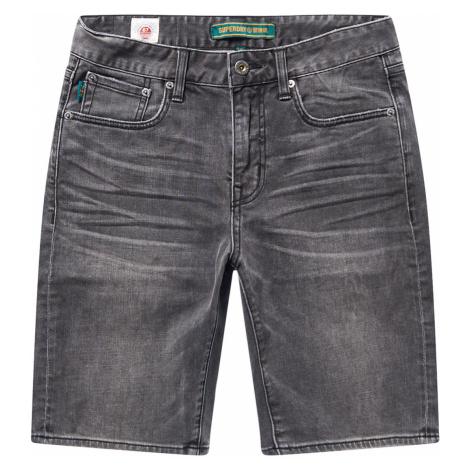 Superdry Herren Shorts SLIM SHORT Canyon Vintage Black Schwarz