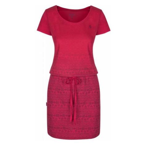 Loap ALRINE rosa - Sommerkleid