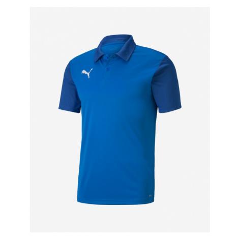 Puma teamGOAL 23 Polo T-Shirt Blau