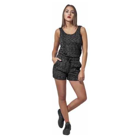 Urban Classics Damen Melange Hot Jumpsuit