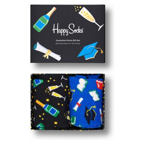 Happy Socks Geschenkbox GRADUATION SOCKS GIFT SET 2-PACK XGRA02-9300 Mehrfarbig