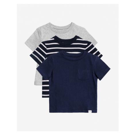 GAP Kids T-shirt 3 pcs Blau Grau
