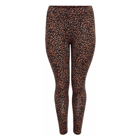 ONLY Curvy Print Leggings Damen Rot