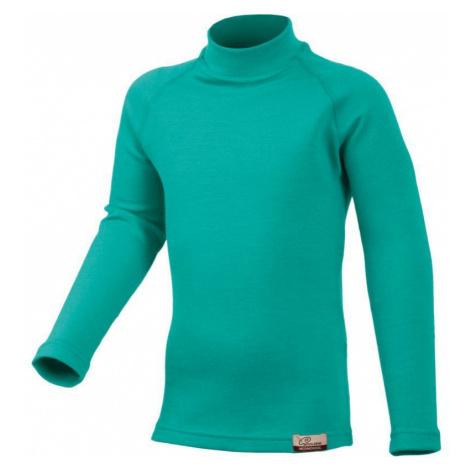 Merino T-Shirt Lasting SONY 6565 green Wolle