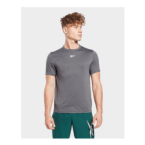 Reebok workout ready mélange t-shirt - Black - Herren, Black
