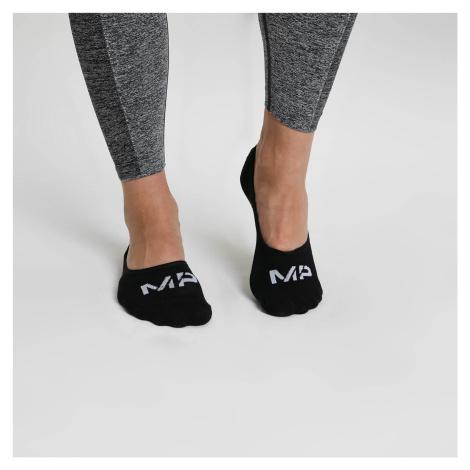 Women's Invisible Socks - Schwarz