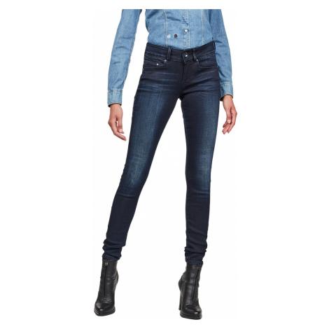 G-Star Damen Jeans Midge Cody Mid - Skinny Fit - Blau - Faded Blue G-Star Raw