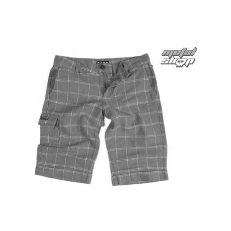 Damen Shorts VANS - Linen Shorties - Carbon Plaid XXS
