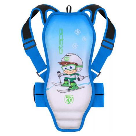 Etape BACKBONE blau - Rückenprotektor für Kinder