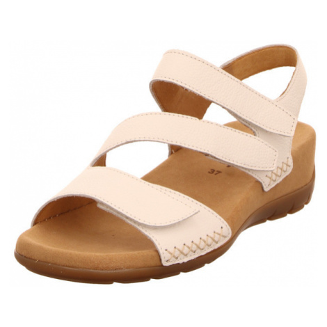 Damen Gabor Komfort Sandalen weiss