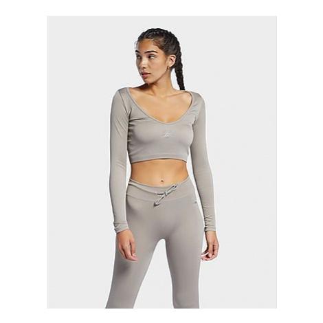 Reebok reebok classics long-sleeve shirt - Boulder Grey - Damen, Boulder Grey