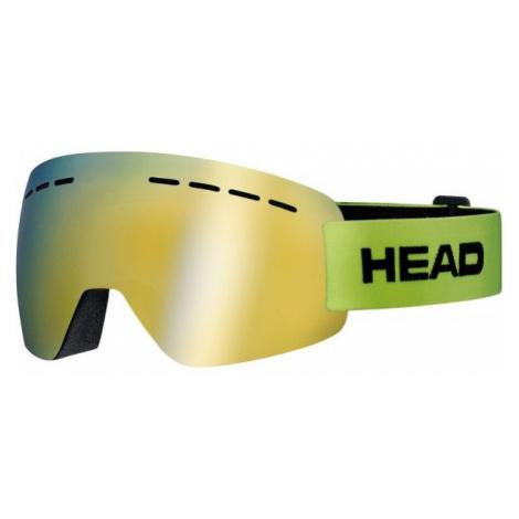Head SOLAR FMR grün - Skibrille