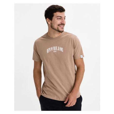 Replay T-Shirt Braun