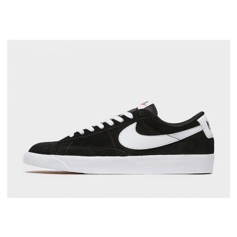 Nike Blazer Low Herren - Black/White - Herren, Black/White