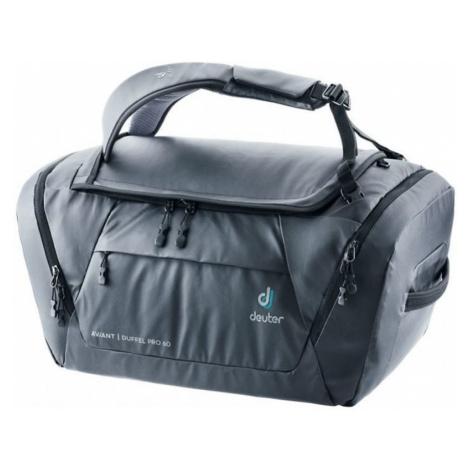 Reisen Tasche Deuter Aviant Duffel Pro 60 Black
