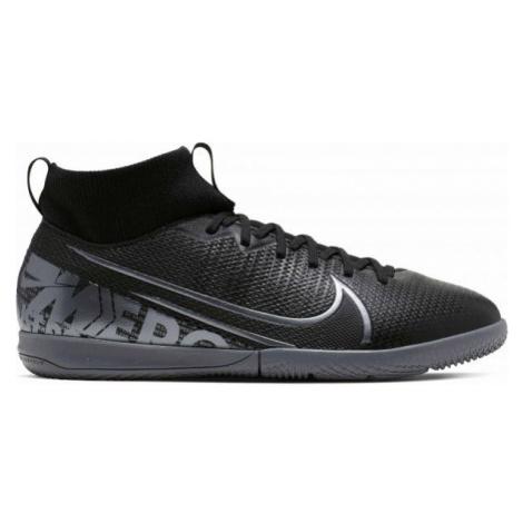 Nike JR MERCURIAL SUPERFLY 7 ACADEMY IC schwarz - Hallenschuhe für Jungen