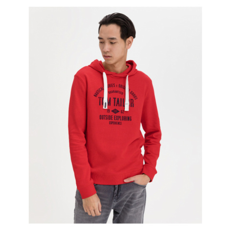 Tom Tailor Sweatshirt Rot