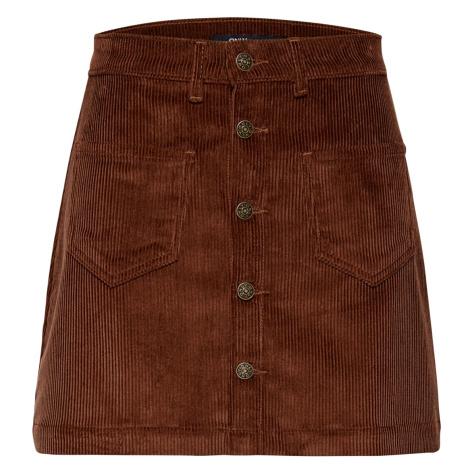 Only Damen Cordrock Onlamazing Hw Corduroy Skirt