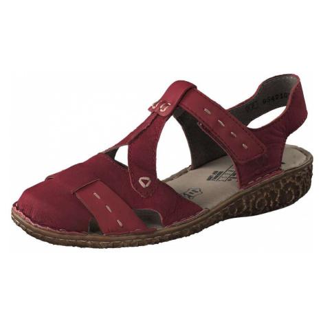 Rieker Sandale Damen rot