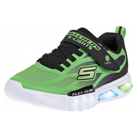 Skechers Flex Glow Jungen grün