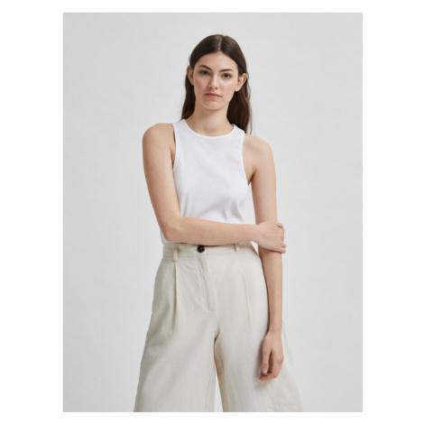 Selected Femme Maldivia Unterhemd Weiß