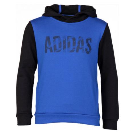 adidas OSR YB LOGO HD blau - Kinder Trainingsanzug
