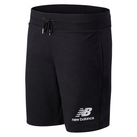 New Balance Herren Short ESSETIALS STACKED LG SHORT MS03558 Black