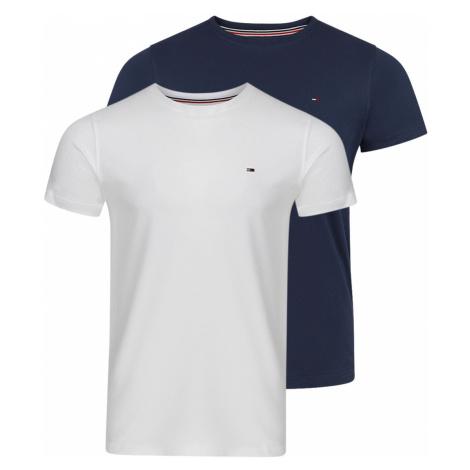 Tommy Hilfiger Herren T-Shirt Tjm Cneck 2er Pack - Slim Fit