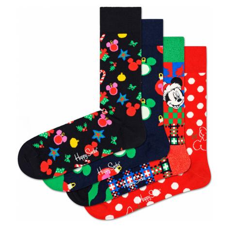 Happy Socks Geschenkbox HOLIDAY SOCKS GIFT BOX 4-PACK XDNY09-4500 Mehrfarbig