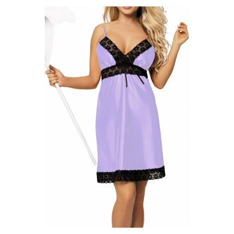 Luxuriöse Nachthemden für Damen Peggy violet DKaren