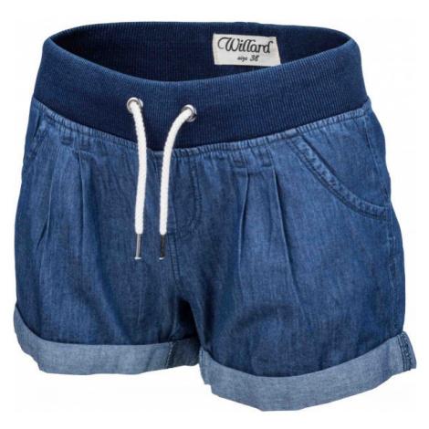 Willard TONJA blau - Damenshorts im Jeanslook