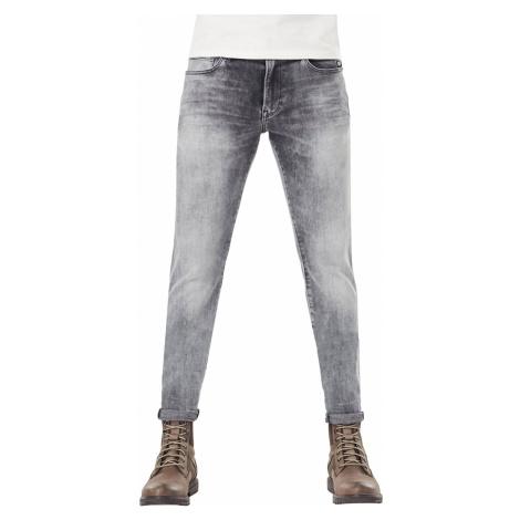G-Star Herren Jeans Revend - Skinny Fit -Grau - Faded Seal Grey G-Star Raw