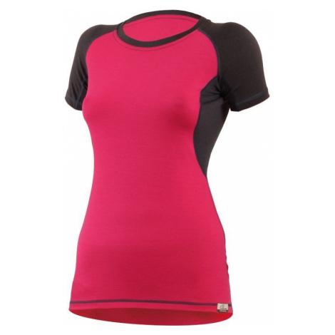 Merino T-Shirt Lasting ZITA 4780 Pink Wolle