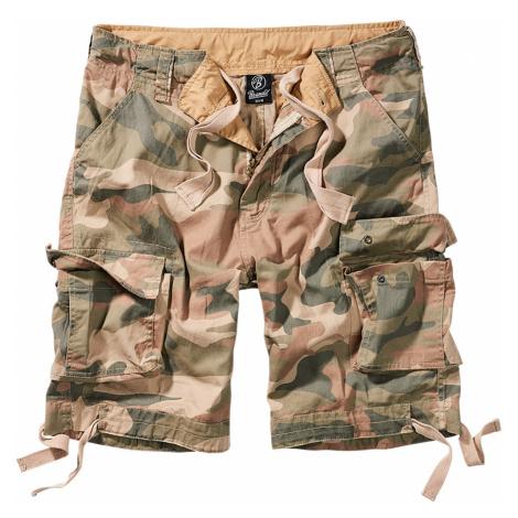 Brandit Shorts URBAN LEGEND CARGO SHORTS BD2012 Wood Camo