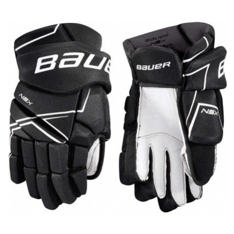 Bauer NSX GLOVES JR schwarz - Eishockey Handschuhe für Kinder