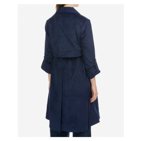French Connection Trenchcoat Blau