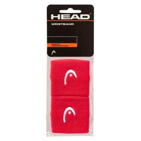 Head WRISTBAND 2,5 rot - Schweißband