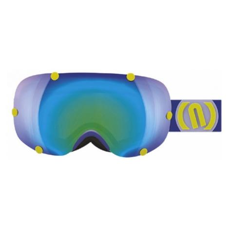 Neon OUT blau - Skibrille