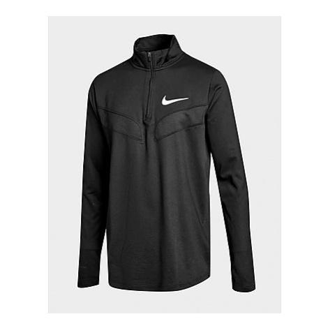 Nike Sport Langarm-Trainingsoberteil Kinder - Black/Black/White - Kinder, Black/Black/White