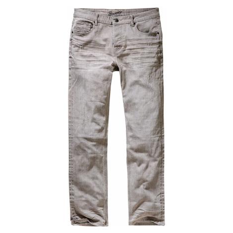 Graue jeans straight leg für herren