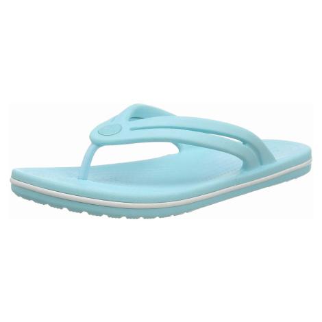 Damen Crocs Zehentrenner blau Crocband Flip W