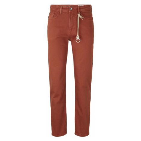 TOM TAILOR DENIM Herren Loose Fit Jeans, orange