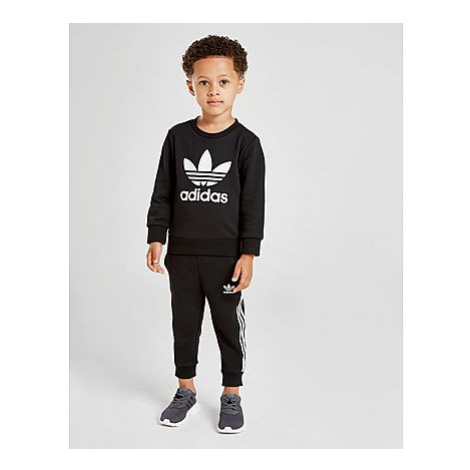 Adidas Originals Logo Trainingsanzug Baby - Black / White/White - Kinder, Black / White/White