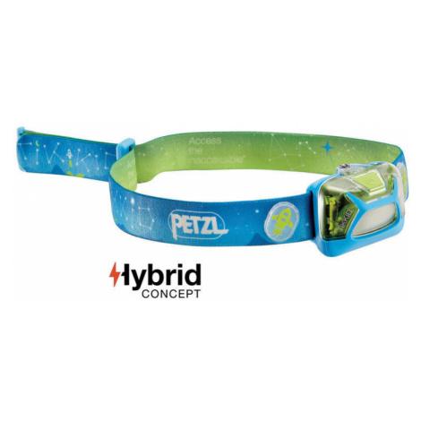 Stirnlampe Petzl Tikkid Hybrid E091BA00 blue