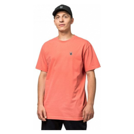Horsefeathers HORN SS T-SHIRT orange - Herren T- Shirt