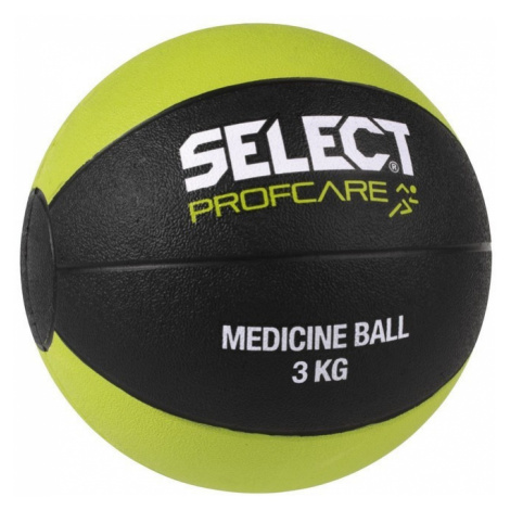 schwierig Ball Select Medicine Ball 3kg schwarz green